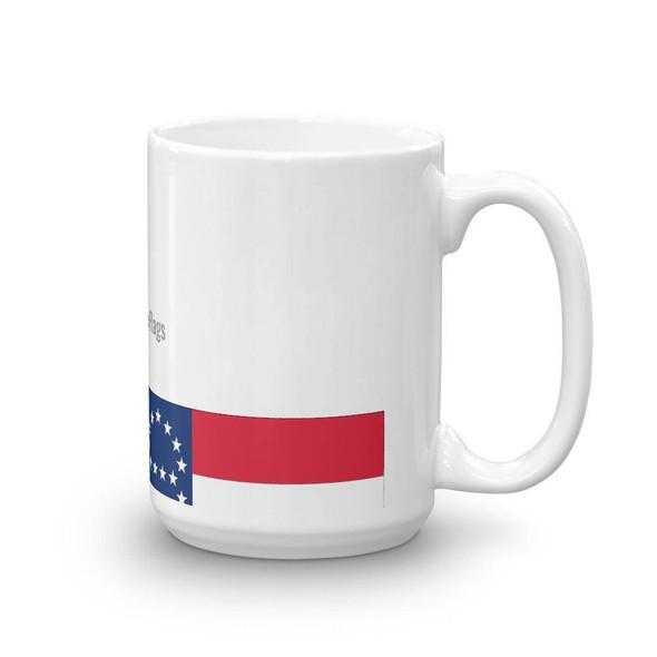General Robert E Lee Headquarters Flag Mug