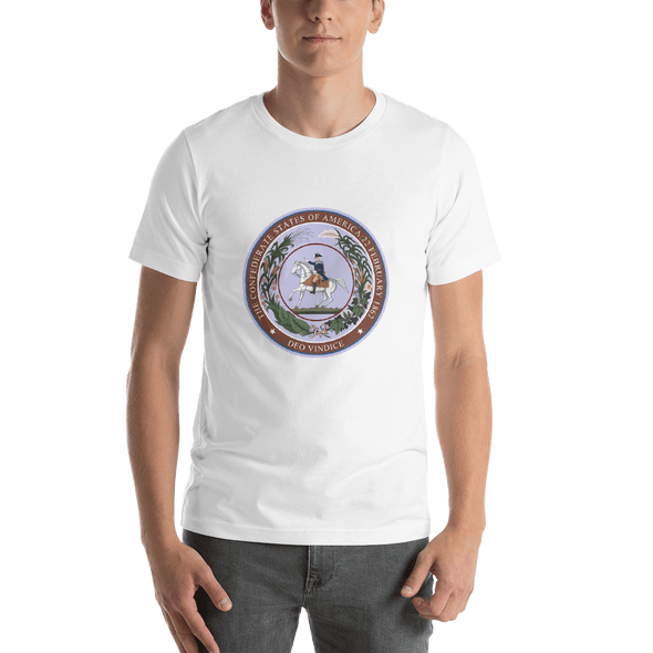 CSA Seal Deo Vindice Short-Sleeve Unisex T-Shirt