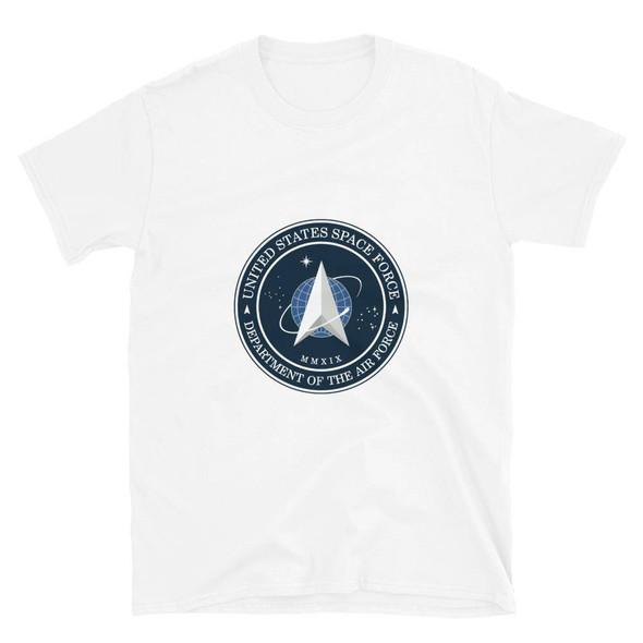 US Space Force Logo Short-Sleeve Unisex T-Shirt