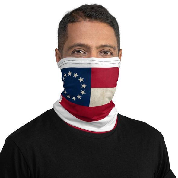 1st National Neck Gaiter Face Mask