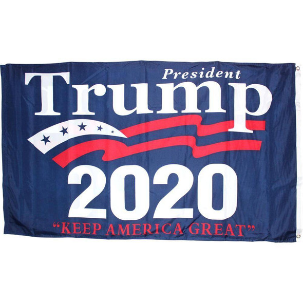 3x5 ft Double Sided President Trump Flag Keep America Great 2020
