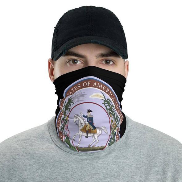 Deo Vindice CSA Seal Neck Gaiter Face Mask
