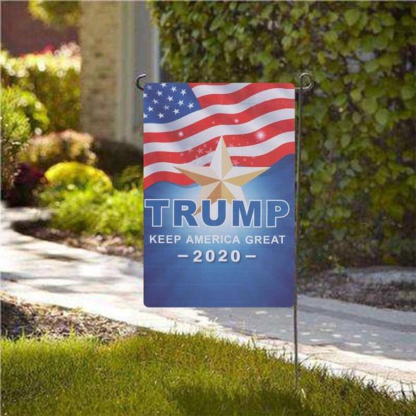 12x18 inch  Trump Garden Flag Keep America Great