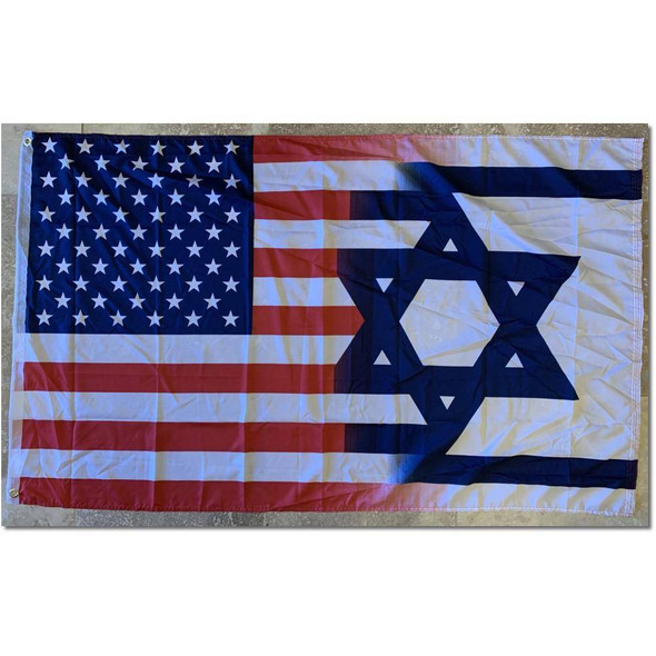 USA Israel Flag- Outdoor Commercial 2 ply Nylon