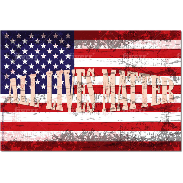 USA All Lives Matter Flag - Outdoor - Made in USA