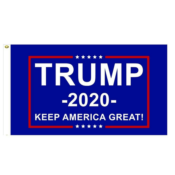 12x18 inch Double Sided Flag Trump 2020 Keep America Great