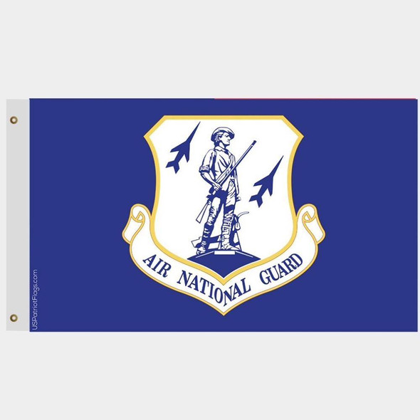 US Air National Guard Insignia Flag Outdoor Dacron Made in USA