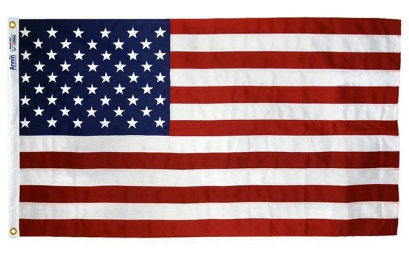 American Flag 2 1/2 ft x 4 ft  Made in USA 2 Grommets-1