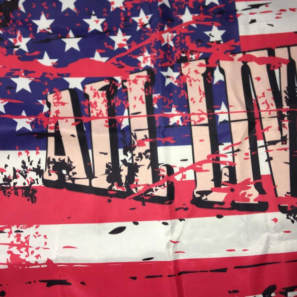 Red Ink Discount! - USA All Lives Matter Flag - Outdoor - Made in USA
