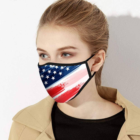 American Flag Face Mask - Made in USA-1