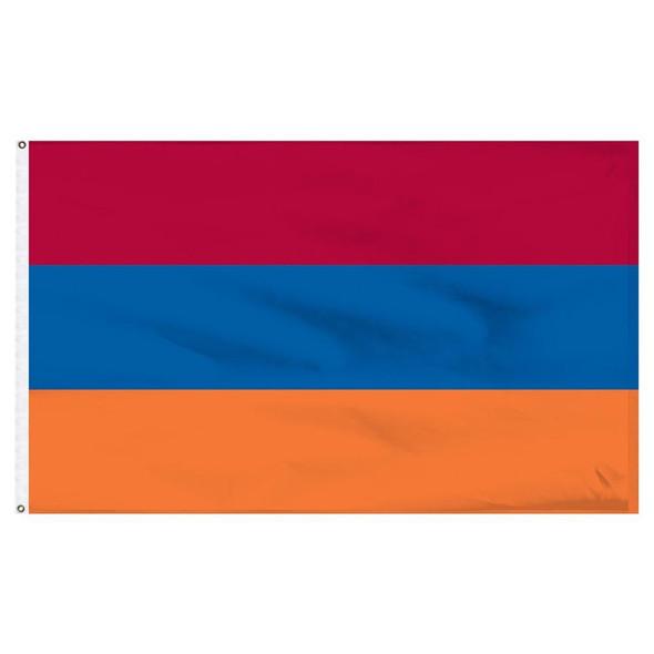 Armenia Flag Outdoor - Nylon Sewn Made in USA