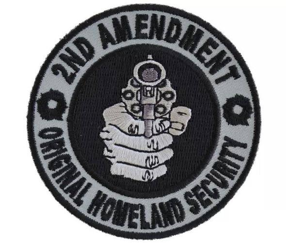 2nd Amendment Original Homeland Security Gun Patch