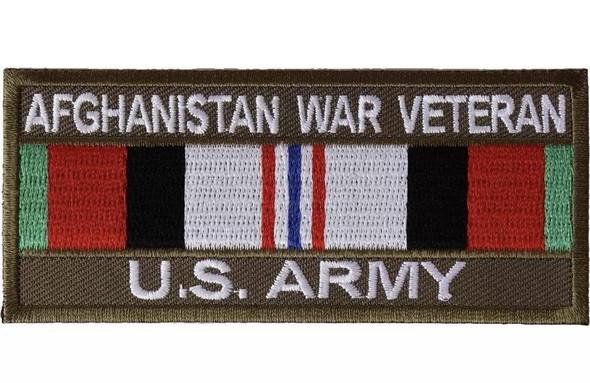 Afghanistan War Veteran US Army Patch