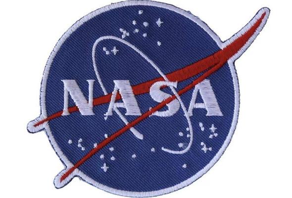 NASA Logo Iron On Patch