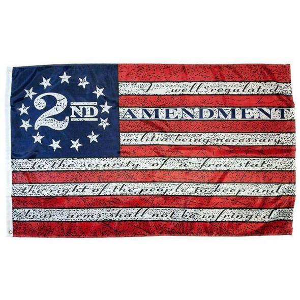 Vintage Betsy Ross 2nd Amendment Flag