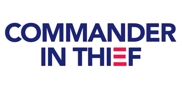 Commander in Thief Flag - Made in USA