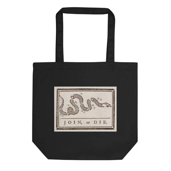 Join or Die Eco Tote Bag