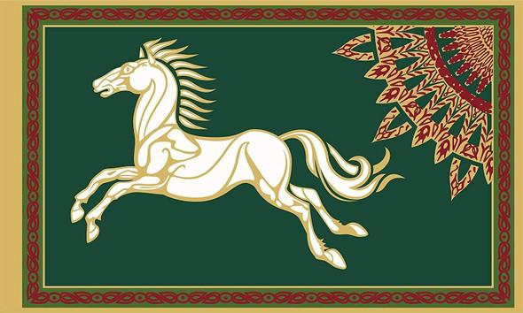 Kingdom or Rohan Royal Viking Sun 3x5 Flag - Lord of the Rings
