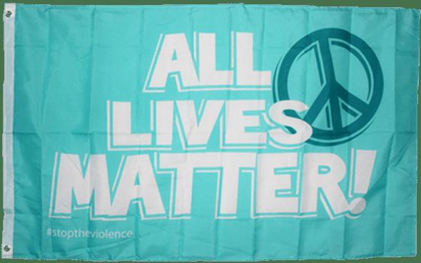 All Lives Matter Peace Flag 3x5 ft