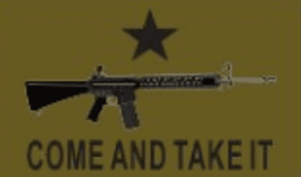 3x5 M4 Carbine Come and Take It Flag