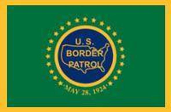 Border Patrol Flag - Made in USA