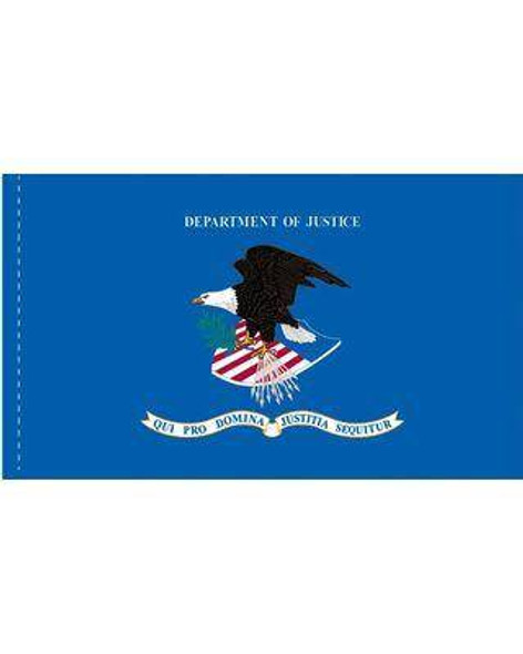 Department of Justice Flag - Made in USA