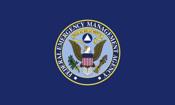 Federal Emergency Management Agency FEMA Flag - Made in USA FEMA