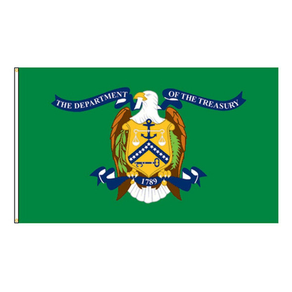 Department of Treasury Flag - Made in USA