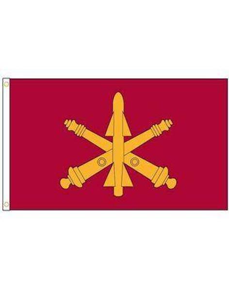 Air Defense Artillery US Army Flag - Made in USA