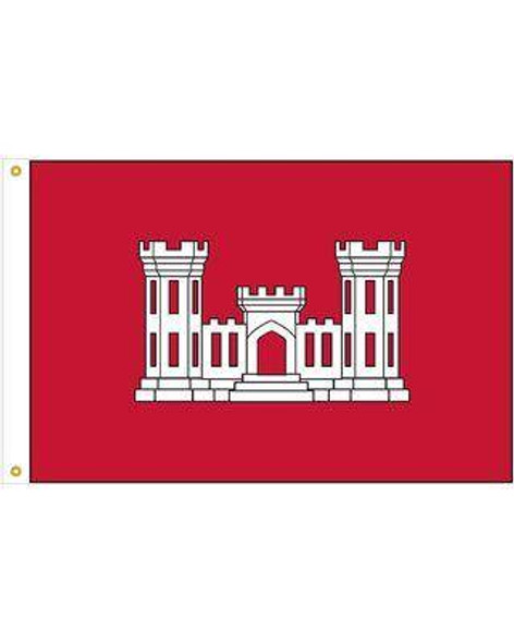 Corps of Engineers US Army Flag - Made in USA