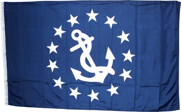 US Yacht Club Commodore Economical Flag