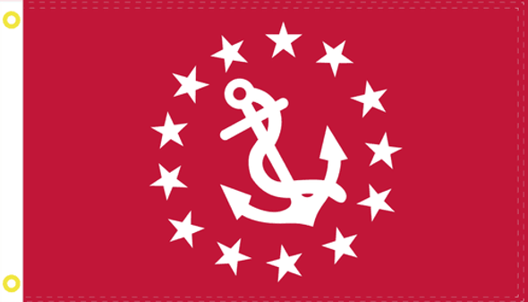 US Yacht Club Vice Commodore Red Flag