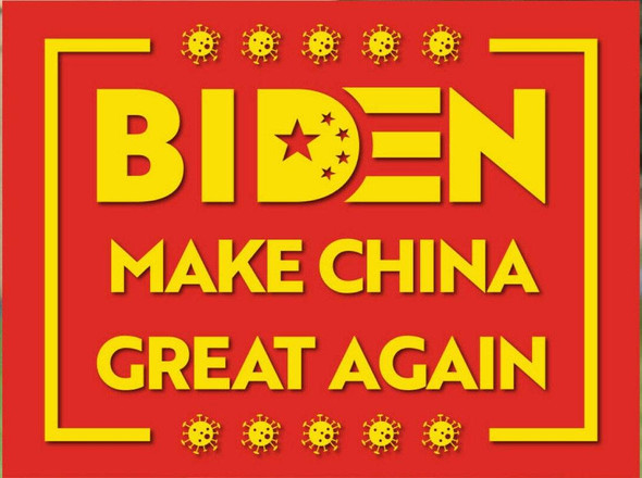 Biden Make China Great Again Flag Made in USA