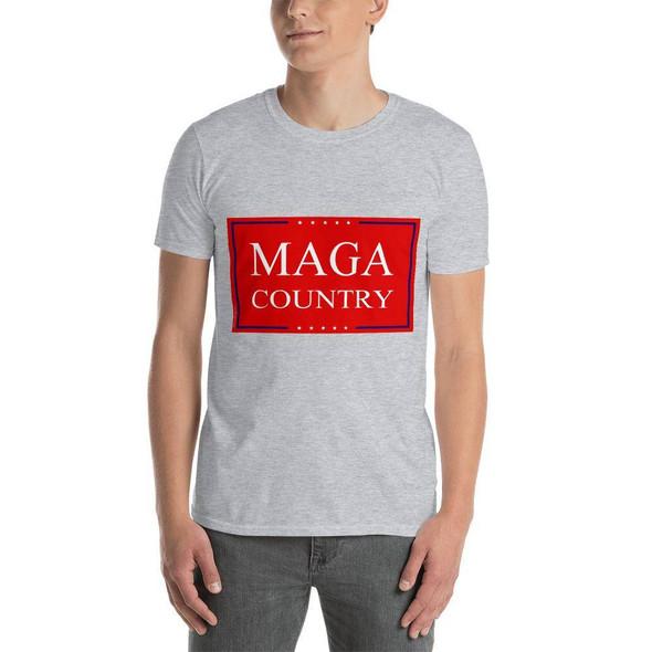 MAGA Country Short-Sleeve Unisex T-Shirt