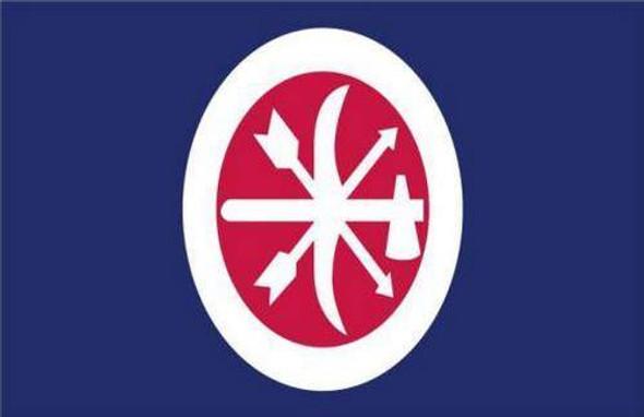 Choctaw Braves Flag 3x5 ft. Standard-1
