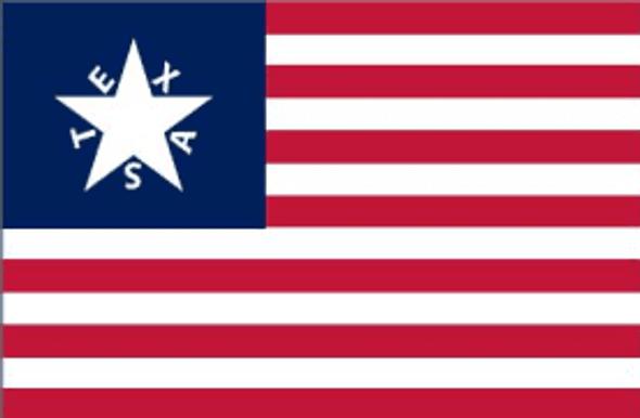Davy Crockett Texas Alamo Flag - Made in USA