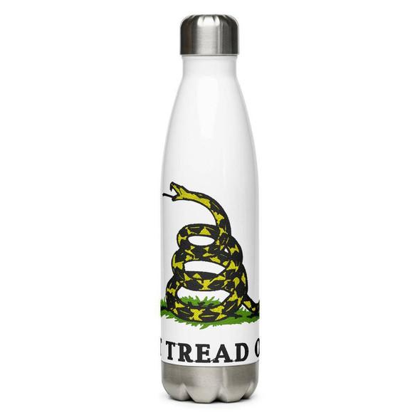 Don't Tread On Me Gadsden Stainless Steel Water Bottle