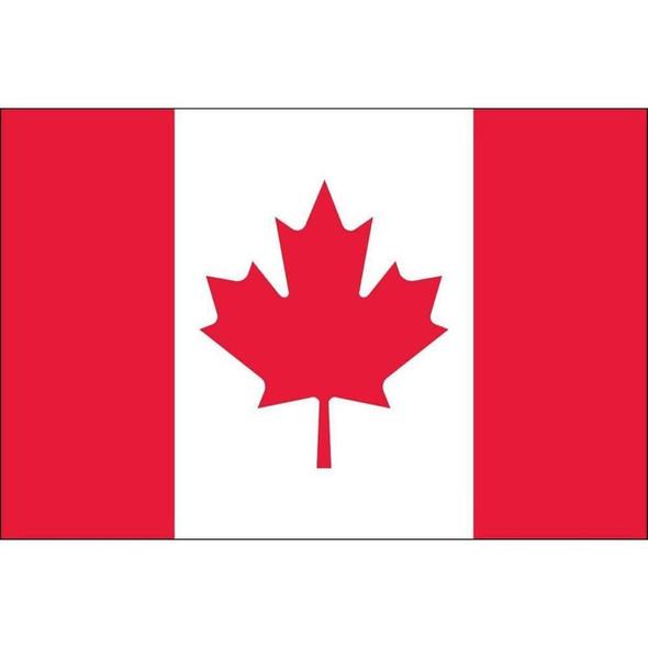 Canada Flag Nylon Outdoor - Made in USA