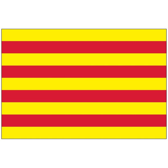 Catalonia (Spain) Flag Nylon Outdoor - Made in USA