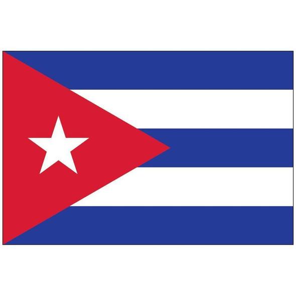 Cuba Flag Nylon Outdoor - Made in USA