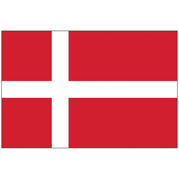 Denmark Flag Nylon Outdoor - Made in USA