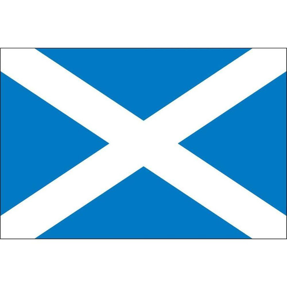 Scotland Flag Saint Andrew's Cross Nylon Outdoor - Made in USA