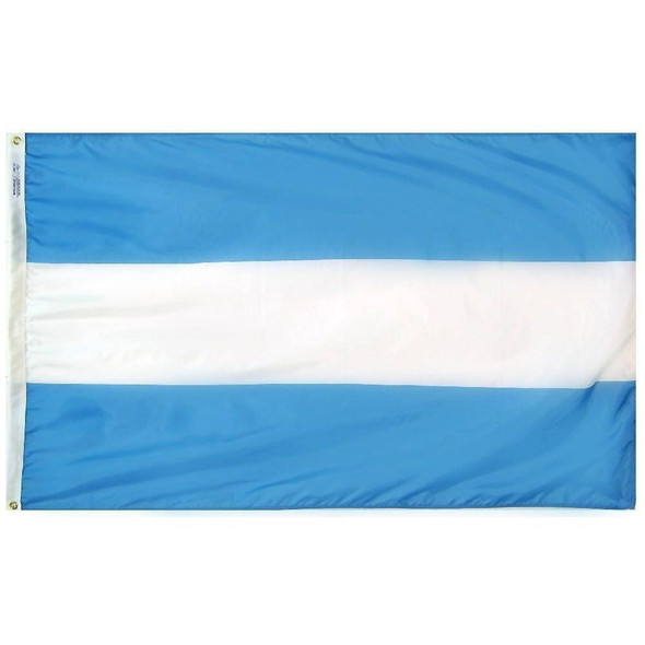 Argentina Flag (No Seal) Outdoor Cut & Sewn Made in USA