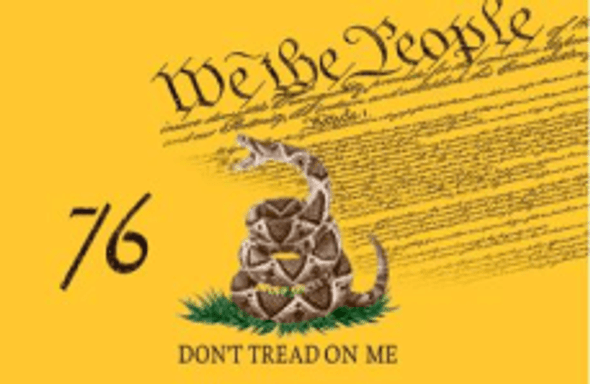 3'x5' Gadsden Don't Tread On Me Live Rattlesnake We The People Double Sided Flag - Rough Tex