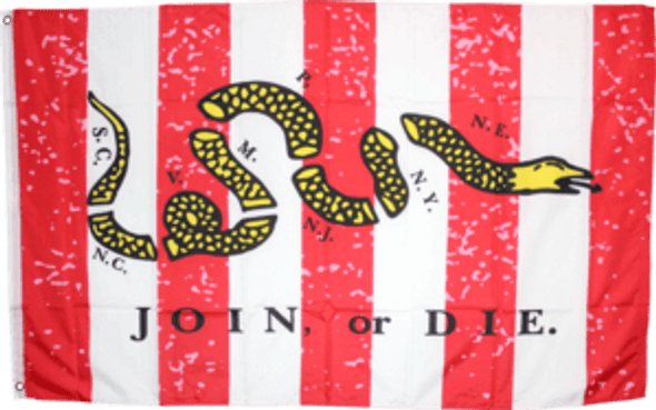 3'x5' Sons of Liberty Don't Tread On Me Double Sided Flag - Rough Tex
