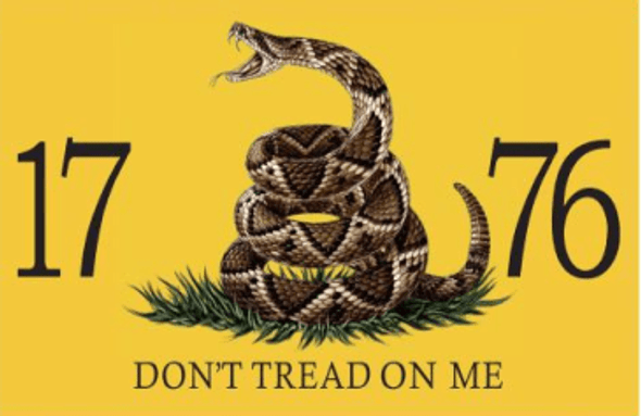 3'x5' Gadsden Live Rattle Snake Don't Tread On Me 1776 Double Sided Flag - Rough Tex