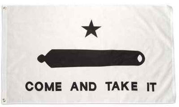 3x5 Gonzales Come And Take It Double Sided Flag - Rough Tex