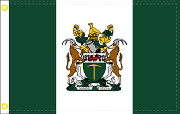 3'x5' Rhodesia Flag - Rough Tex