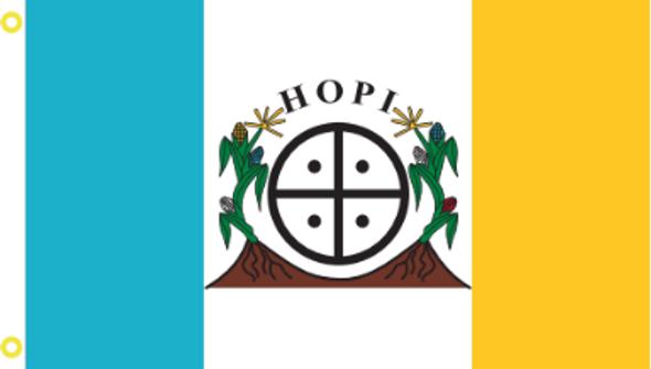 2'x3' Hopi Nation Flag - Rough Tex