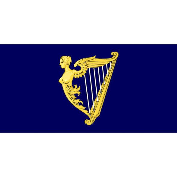 Royal Standard of the Kingdom of Ireland Flag - Made in USA